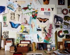 l'atelier de John Derian à NY