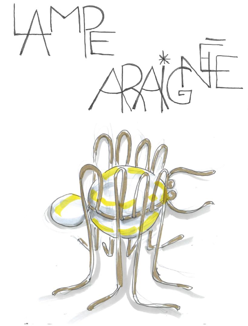 lampe araignée VDarré